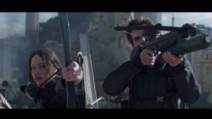 The Hunger Games: Mockingjay first trailer