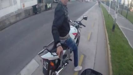 Watch an attempted robbery by gunpoint caught on GoPro