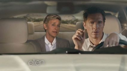 Ellen Mocks The Hell Out Of Matthew McConaughey