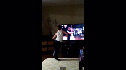 8-year old Charlie dances like Patrick Swayze - no really!