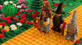 Film Moments Recreated With Lego