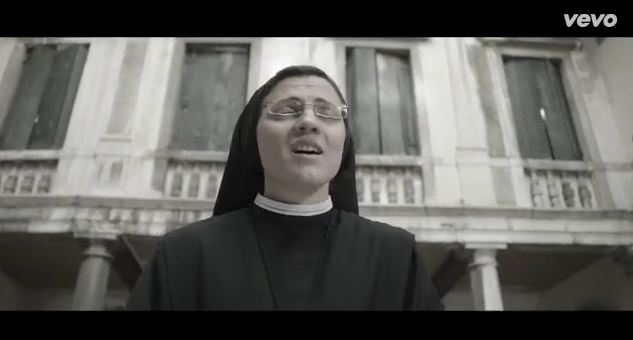The nun that won The Voice in Italy is singing WHAT now?