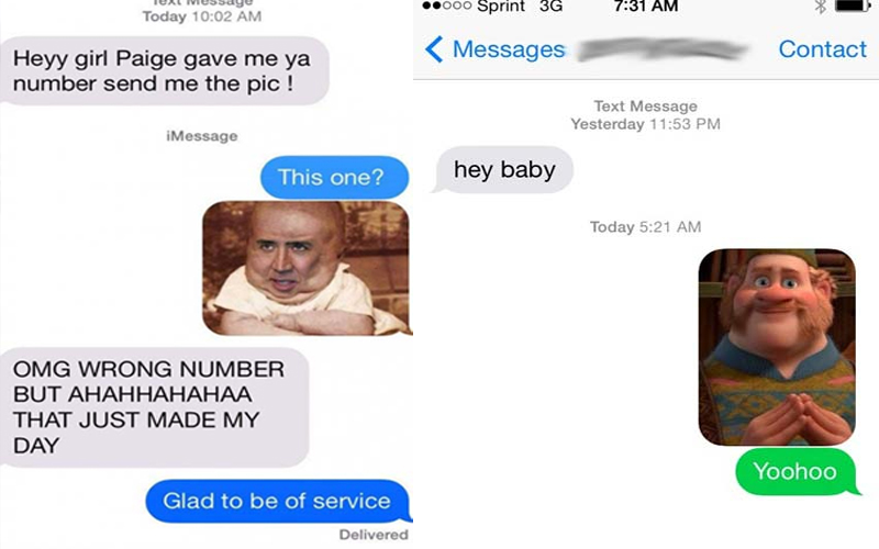 Perfect Responses To Wrong Number Texts