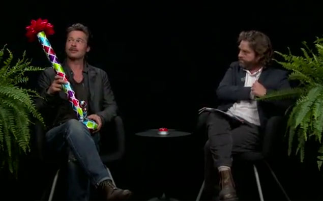 Between Two Ferns With 'Bradley Pitts' And Zach Galifianakis