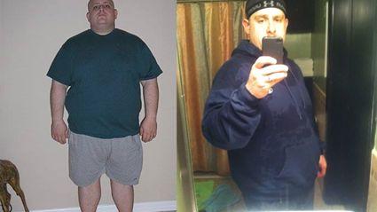 Fat man shamed online
