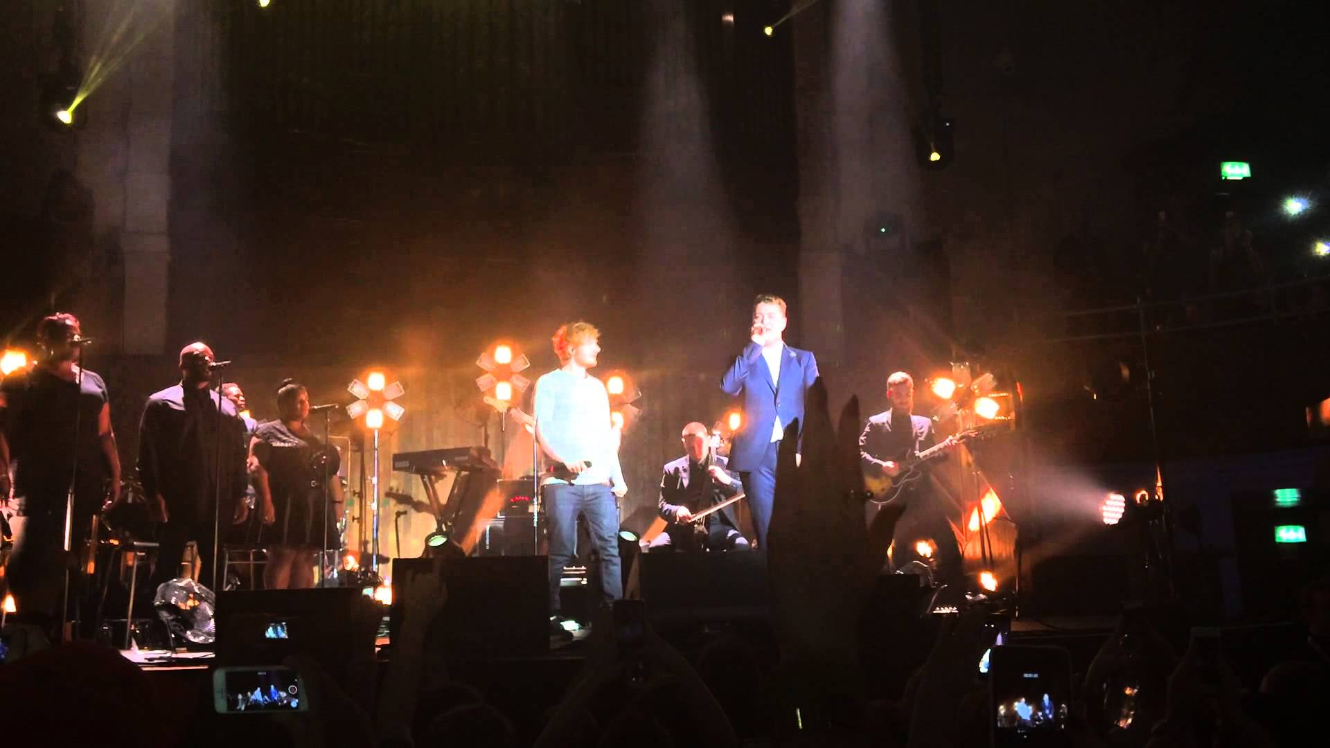 Ed Sheeran Joins Sam Smith To Sing Stay With Me