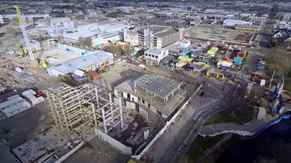 Christchurch from a Helicam
