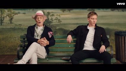 George Ezra's new video has a special guest...Sir Ian McKellen!