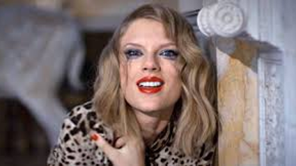 Taylor Swift behind the scenes of Blank Space Vid
