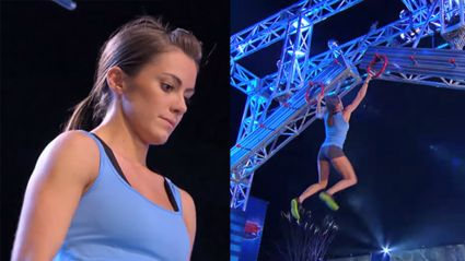 Kasy Catanzaro owns the American Ninja Course
