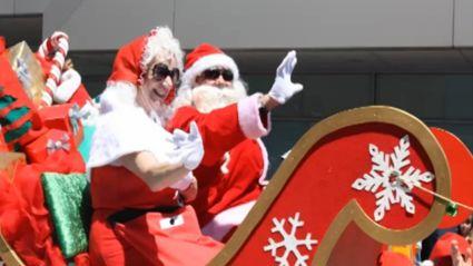 Downtown Tauranga Christmas Parade 2014