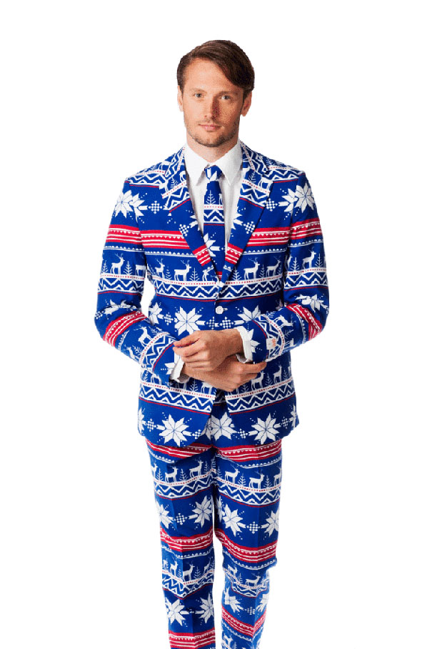 The Ugly Christmas Sweater Suit Is Here