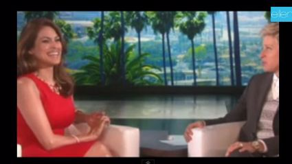 Eva Mendes LIED to Ellen about her pregnancy but here's why!