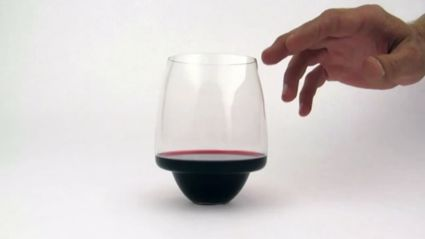 Spillproof wine glass! Merry Christmas!