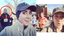 Marathon Runner's Funny Selfies