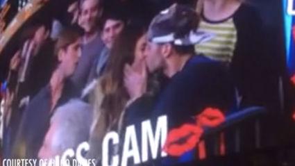 Kiss Cam FAIL
