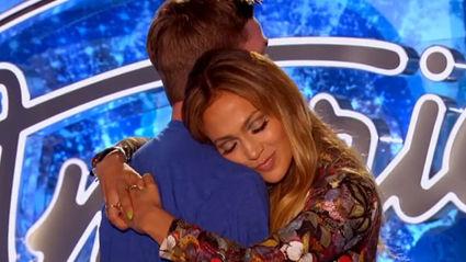 Jennifer Lopez Slow Dances With American Idol Hopeful