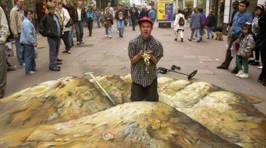 Street Artist Becomes Treasure Hunter