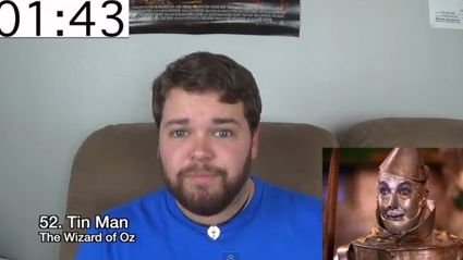 Guy does 100 impressions in one take! But how annoying would he be to live with?