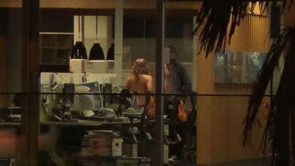 Late Night Sex Romp in Chch office!