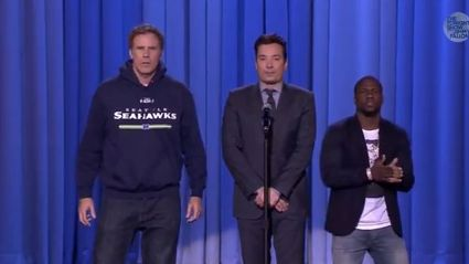 Will Ferrell, Jimmy Fallon and Kevin Hart - The new epic LIP SYNC Battle!