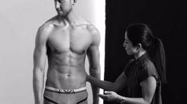 Calvin Harris Strips Down For Armani