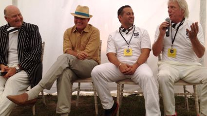 PICS: Legends of Cricket Art Deco match