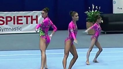 MUST WATCH: Russia at th Acrobatic Gymnastics World Championships