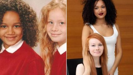 The biracial twins no one believes are sisters