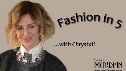 Fashion in 5 - Statement Dressing