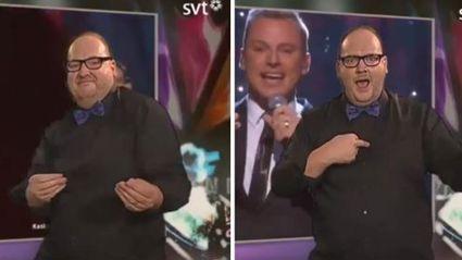 Eurovision Sign Language Interpreter Steals The Show