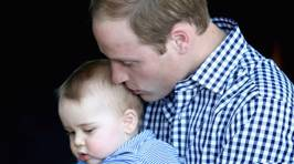 Prince William Shows off His Dad Skills in Australia