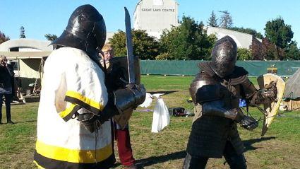 WATCH: Pauls Medieval Battle