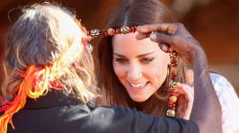 Kate and William's Outback Visit to Uluru