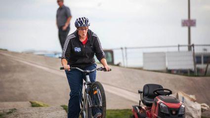Column: Pump Track Big Jump For Sarah