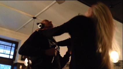 Callum Gets a Lap Dance!