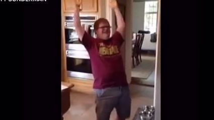 Congratulations Ben! He has Down Syndrome and just landed his first job.