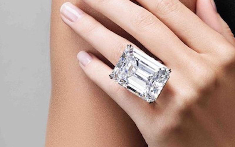 The 'Perfect' Diamond Is 100 Carats And Up For $25 Million At Auction