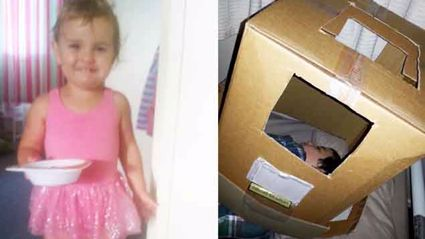 Hilariously Cute Photos Of Your Kids In The Clothes They Just WON'T Take Off!