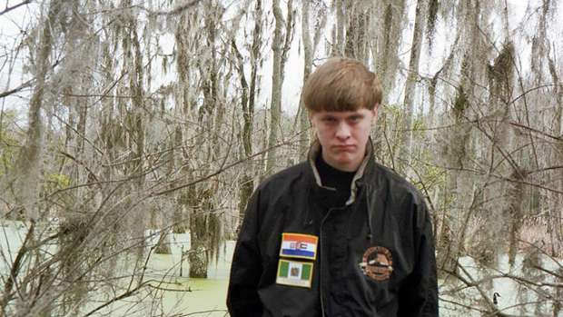 Dylann Storm Roof as pictured on Facebook