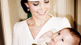 Candid Photos From Princess Charlotte's Christening