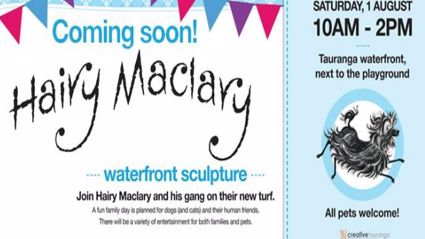 Hairy Maclary Waterfront Sculptures Fun Day!