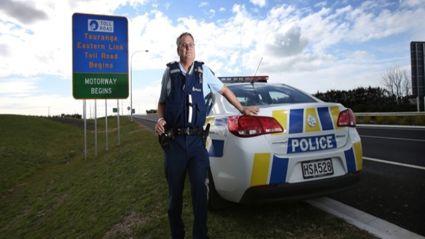 Sergeant Wayne Hunter said drivers hurtling along at breakneck speeds risked serious injury or death. Photo / John Borren
