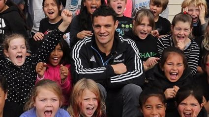 Dan Carter Amongst World's Most Charitable Athletes