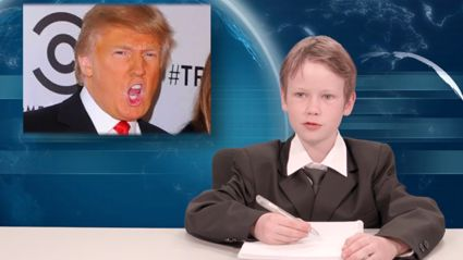Kids News: Donald Trump The Orange President