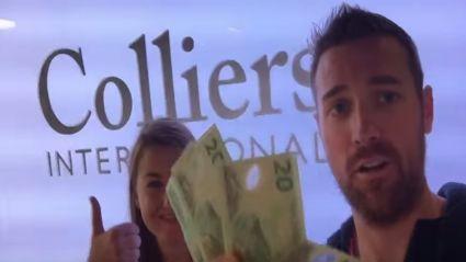 Throw Your Boss From A Plane - Simon, Colliers Tauranga!