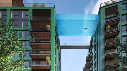 This Sky Pool Will Be A Real Thing In 2017