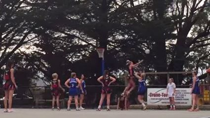 These Girls Just Wanted To Stop A Goal At Their Netball Game... Is It Okay?