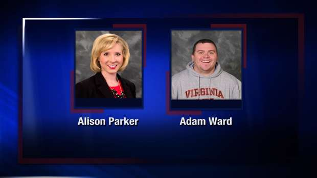 The victims Alison Parker and Adam Ward