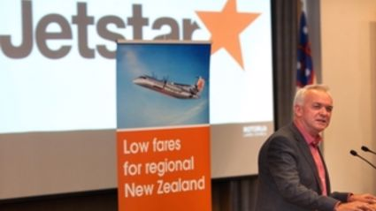 Jetstar's Grant Kerr has announced services to four New Zealand destinations